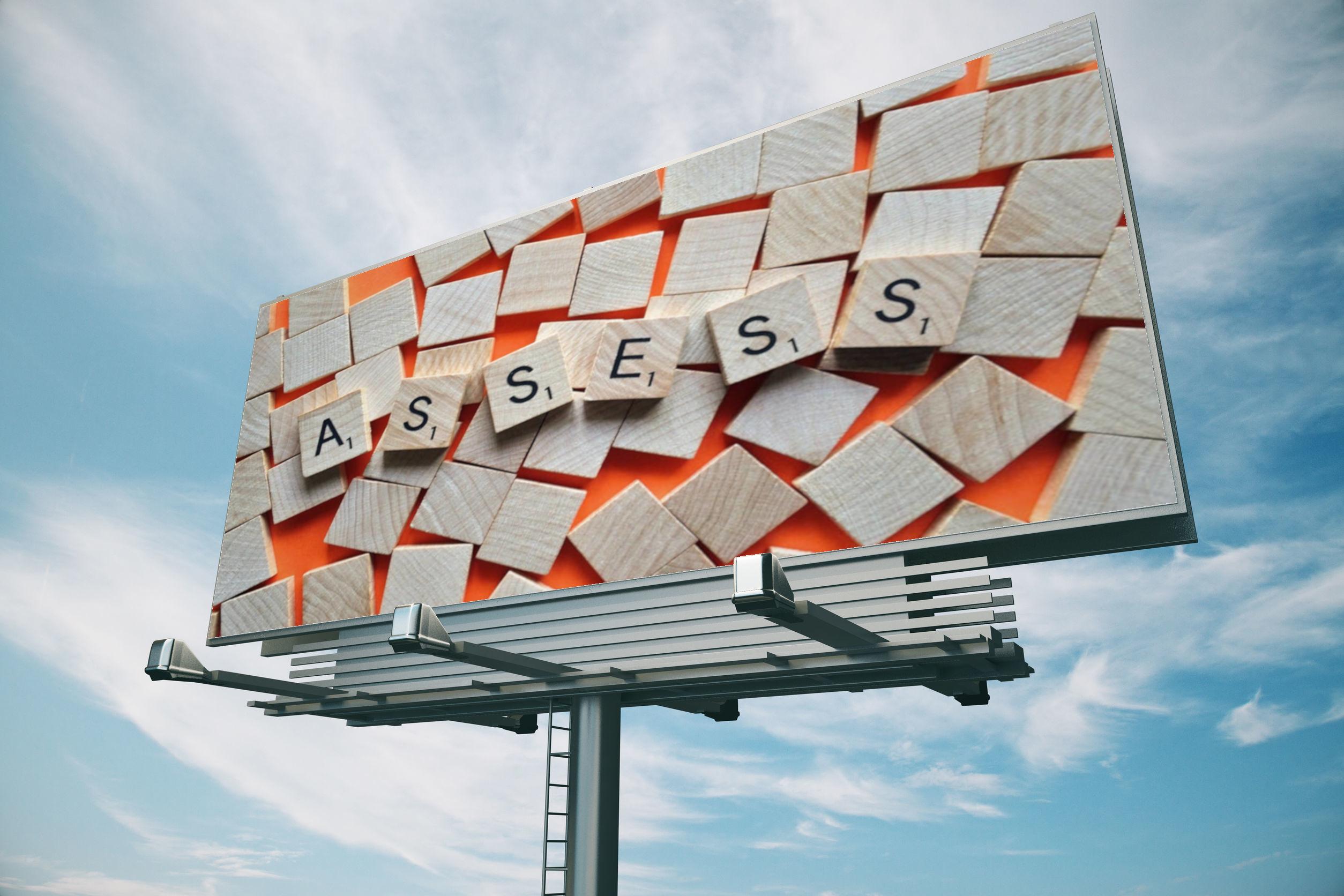 Assess The Essential Bill Board